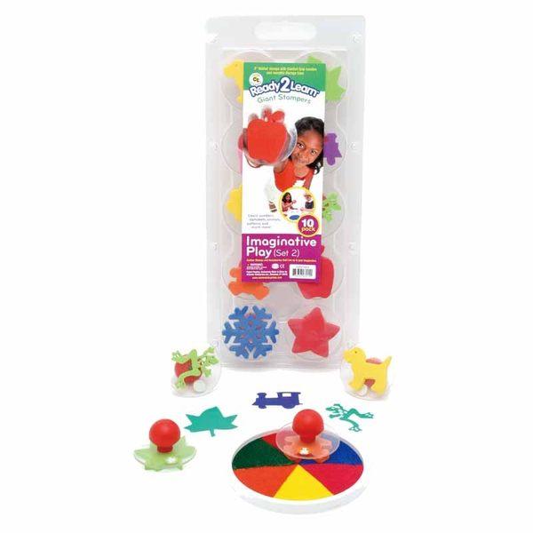 創意綜合大印章-2 兒童幼兒教具教學道具彩繪著色畫圖用具親子同樂綜合活動藝術與人文