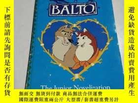 二手書博民逛書店BALTO罕見the Junior Novelization:巴