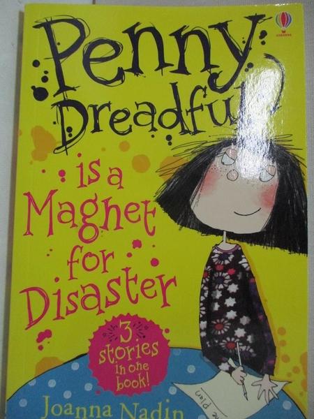 【書寶二手書T1/兒童文學_CR6】PENNY DREADFUL IS A MAGNET FOR DISASTER