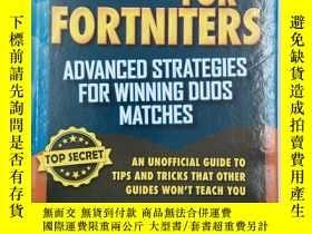 二手書博民逛書店Fortnite罕見Battle Royale Hacks: Advanced Strategies for Wi