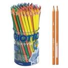 【義大利 GIOTTO】516500  STILNOVO 學用六角彩色鉛筆(84支)附筆筒 /筒