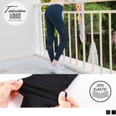 《KS0425》台灣製造~20%彈力纖維透膚拼接運動褲/瑜伽褲 OrangeBear
