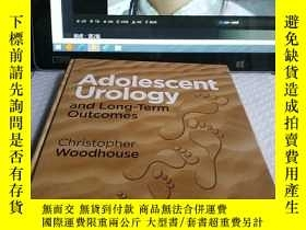 二手書博民逛書店Adolescent罕見Urology and Long-Ter