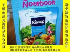二手書博民逛書店COOL罕見KIDS NOTEBOOK兒童筆記本Y12800 w