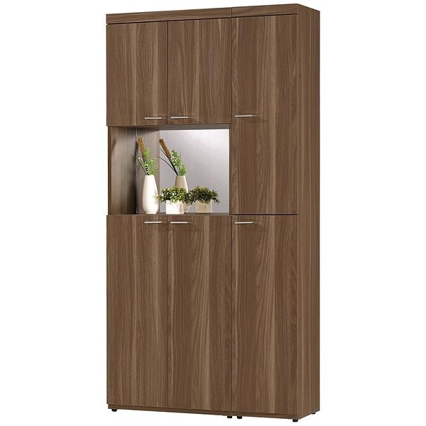 【森可家居】維爾達3尺玄關組合鞋櫃 8CM847-2 木紋質感 北歐風