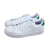 adidas ADVANTAGE 運動鞋 網球鞋 白/綠 男鞋 F36424 no850