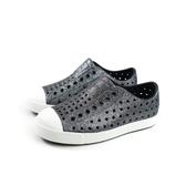 native JEFFERSON BLING 懶人鞋 洞洞鞋 灰色 閃粉 小童 童鞋 13100112-1222 no879