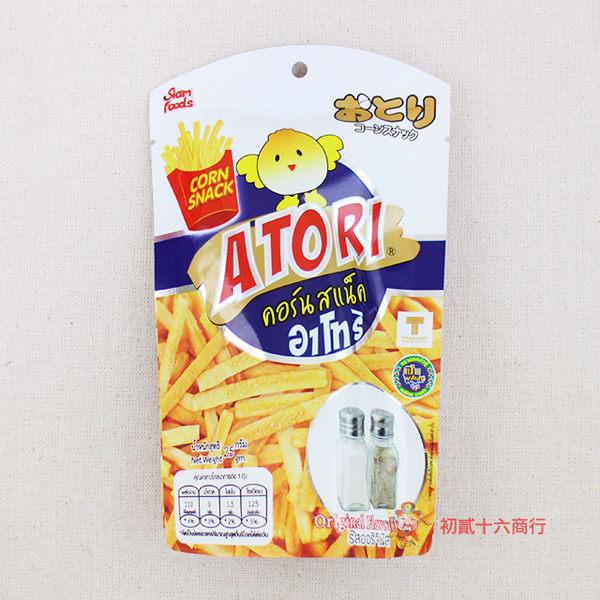 泰國零食日日旺 香脆卡拉薯條(原味)25g單包入【0216零食團購】8855444007212