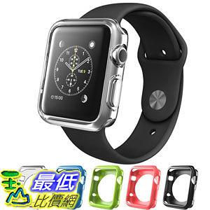 [104美國直購] Apple Watch Case (42 mm), i-Blason TPU Cases [5 Color Combination Pack] 智慧型 手錶 保護殼