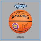 SPALDING 籃球 NBA 林書豪 橘 簽名球 橡膠 室外 隊徽 SPA83248【SP】