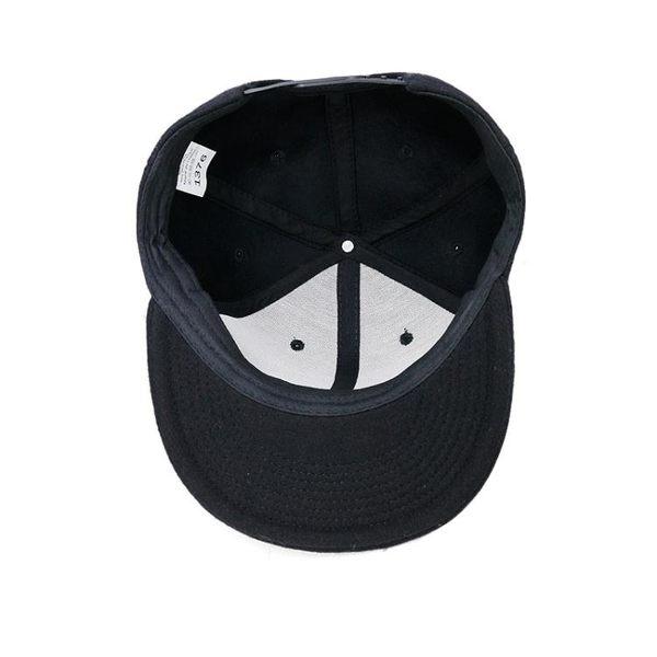 街舞帽子男女士秋冬加厚毛呢棒球帽男女平沿帽戶外鴨舌帽 萬客居