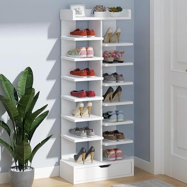 鞋架 鞋架子簡易門口放置物架家用室內好看多層經濟型防塵小型收納鞋櫃-享家