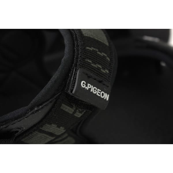 GP (Gold.Pigon) 阿亮代言 涼鞋 黑色 男鞋 G8658M-10 no013