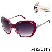 ME&CITY 典藏高貴蝴蝶結太陽眼鏡 抗UV400 (ME 120021 E323)