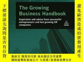 二手書博民逛書店The罕見Growing Business Handbook: Inspiration And Advice Fr