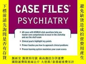 二手書博民逛書店Case罕見Files Psychiatry, Third Edition (lange Case Files)奇