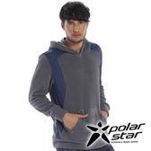 PolarStar 中性 連帽刷毛保暖衣 『灰』P15209