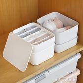 整理箱貼身衣物收納盒抽屜式有蓋分格家用 小艾時尚.NMS