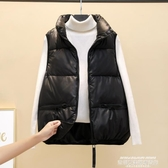 羽絨馬甲 2021秋冬新款羽絨棉馬甲女短款學生韓版寬鬆坎肩外穿背心馬夾外套 萊俐亞