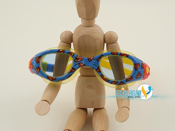 *日光部屋* ZOGGS (公司貨)/382413-DC正義聯盟SuperMan超人 兒童泳鏡