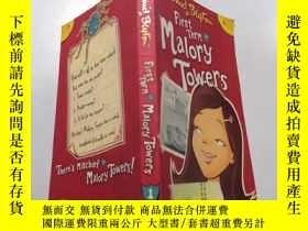 二手書博民逛書店first罕見term at malory towers: 馬洛裏大廈第一學期Y212829