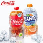 韓國限定版 Coca Cola 可口可樂冰沙 芬達橘子冰沙 130ml 可樂 芬達 可樂冰沙 橘子冰沙 冰沙 飲品