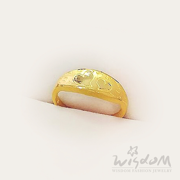 威世登 黃金心型戒 約0.80~0.83錢 GA02156-EEX-FIX