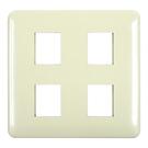 【6350E】豪華歐風蓋板4孔3704開關面板 卡式開關蓋板 插座蓋板 EZGO商城