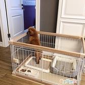 現貨 狗籠 狗籠子中小型犬柴犬鬥牛犬寵物狗狗圍欄室內柵欄【新年盛惠】
