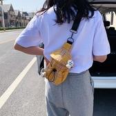 網紅流行小包包2020新款潮女春夏斜背包腋下包百搭帆布包胸包質感 童趣屋