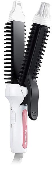 Panasonic【日本代購】松下 捲髮器 直捲兩用 26mm EH-HV40白色
