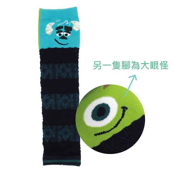 日本Disney 迪士尼 怪獸電力公司造型腳套/襪套/童襪