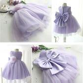 夏季女童公主裙蓬蓬紗裙子花童婚紗禮服兒童洋裝小寶寶演出服冬禮物限時八九折