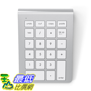 [美國代購] 鋁合金 Satechi Aluminum B01A05HB6K 數字鍵盤 Keypad Number Pad Keyboard for iMac Macbook Laptop _a112