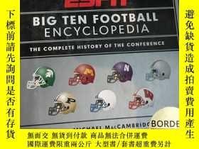 二手書博民逛書店罕見~ESPN Big Ten College Football