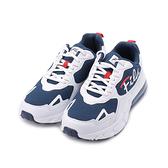 FILA 復古氣墊老爹鞋 白藍 1-J333V-131 男鞋