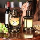 桌燈led充電酒吧檯燈歐式復古創意清吧咖...