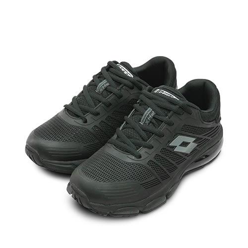LIKA夢 LOTTO 專業KPU氣墊慢跑鞋 鳳凰展翼系列 黑 5281 女