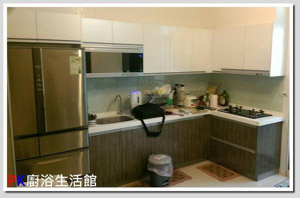 ❤ PK廚浴生活館 ❤ 高雄櫻花流理台 高雄 流理台 廚具 L型流理台 人造石台面 冰箱櫃