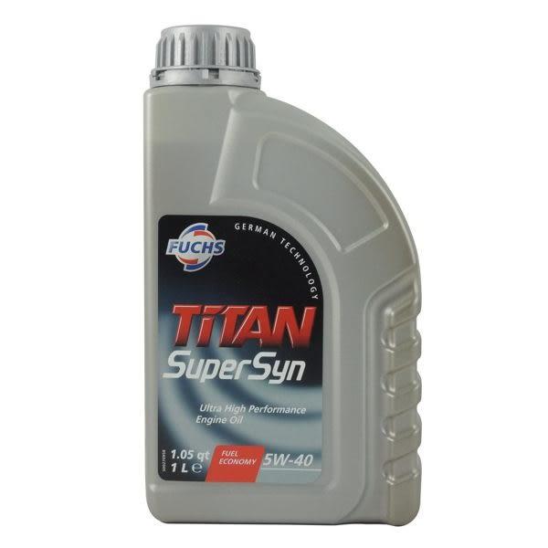 【FUCHS】TITAN Super Syn 5W40 全合成 機油 5W-40