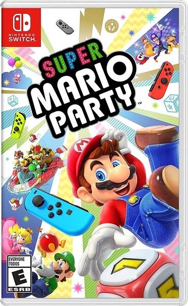 任天堂 Switch NS 超級瑪利歐派對 Super Mario Party 不挑封面 有中文