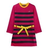 『小鱷魚童裝』條紋綁帶洋裝(02號~06號)532302