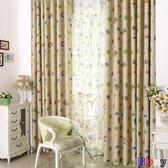窗簾 韓式田園遮光布成品定制窗簾布料窗簾紗防嗮隔熱臥室客廳陽臺