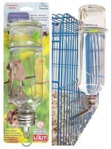 立可吸 GB-12 鳥鼠兔玻璃飲水瓶 寵物防啃咬飲水瓶 玻璃鋼珠瓶 中尺寸 美國寵物第一品牌LIXIT®