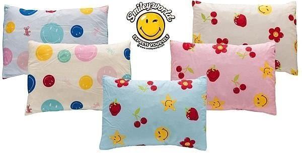 兒童乳膠枕 (孟非斯藍+櫻桃藍)