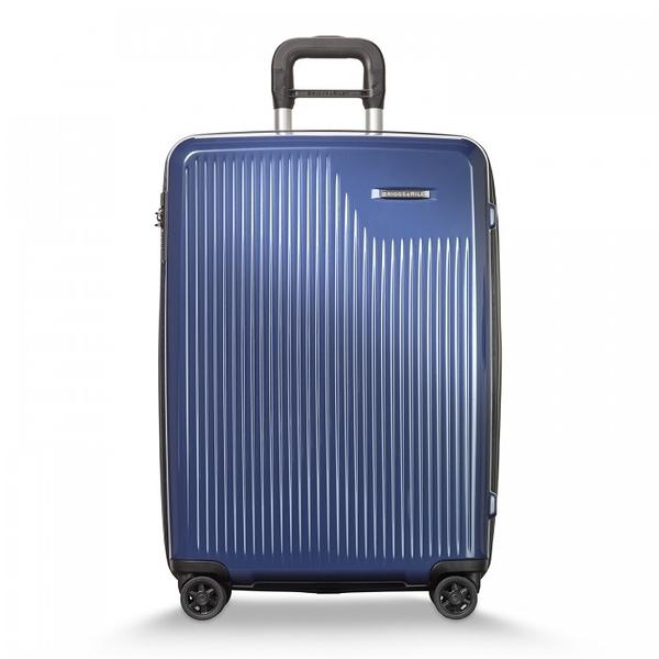 【BRIGGS & RILEY】SYMPATICO硬殼可擴充四輪行李箱27吋(藍)