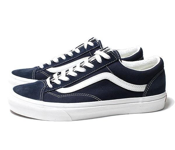 IMPACT VANS Style 36 Old Skool 深藍 白 麂皮 運動 帆布 滑板鞋 VN0A3DZ3VTE
