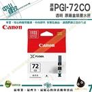 CANON PGI-72 CO 透明亮光 原廠盒裝 PRO-10 IAMC16