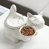 寵物餵食器寵物貓咪陶瓷飲水機自動循環流水恒溫加熱貓流動噴泉喂水器餵食器 獨家流行館YJT