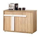 【森可家居】多莉絲4尺餐櫃 8ZX919...